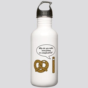 Pretzels complicated Water Bottle