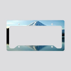 Mount Fuji, Japan License Plate Holder
