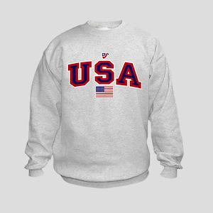 USA Flag Kids Sweatshirt
