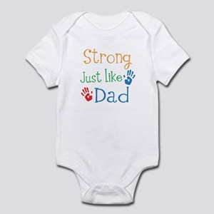 Strong Just like Dad Infant Bodysuit