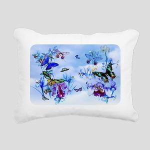 Take Flight Butterflies  Rectangular Canvas Pillow