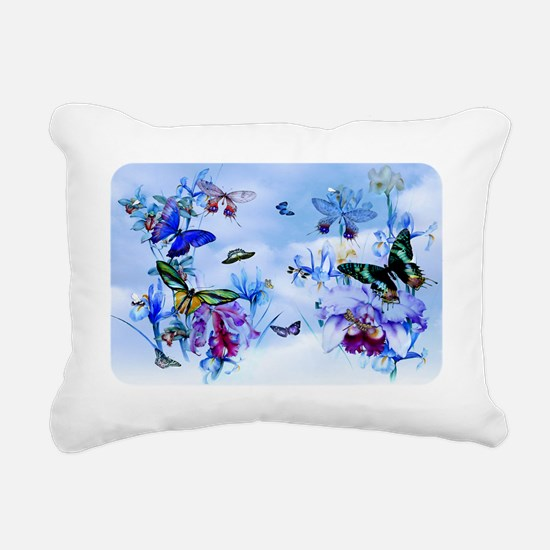 Take Flight Butterflies  Rectangular Canvas Pillow