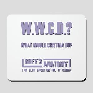 W.W.C.D.? Mousepad