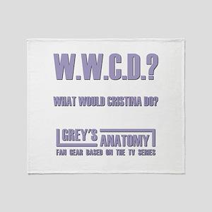 W.W.C.D.? Throw Blanket