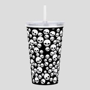random-skull-pattern_lpf Acrylic Double-wall T