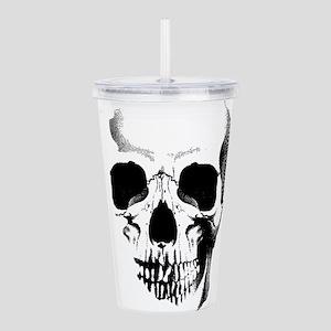 skull-face_bl Acrylic Double-wall Tumbler