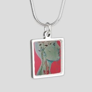 Neotony Silver Square Necklace