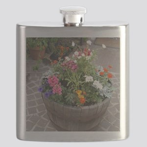 Courtyard Color Flask
