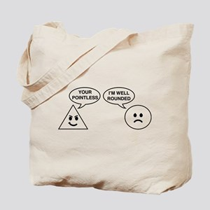 Pointless well rounded Tote Bag