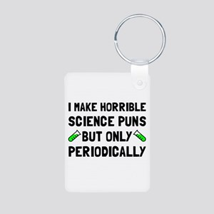 Science Puns Periodically Keychains
