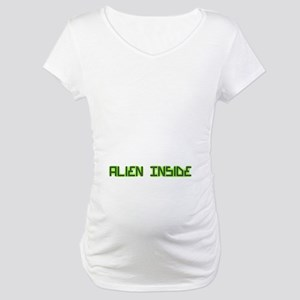 Alien Inside pregnancy Maternity T-Shirt