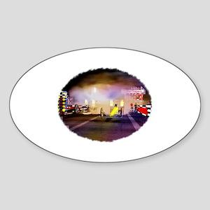 Beeline Dragway Tribute Sticker (Oval)