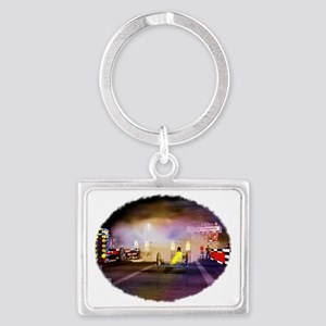 Beeline Dragway Tribute Landscape Keychain