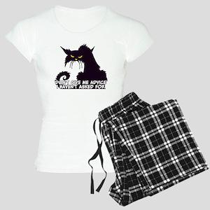 Don't Give Me Advice Angry Women's Light Pajamas