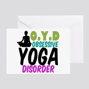Funny Yoga Greeting Card