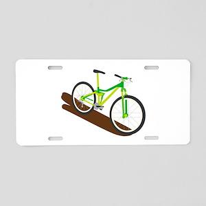 Green Mountain Bike Aluminum License Plate