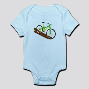 Green Mountain Bike Body Suit