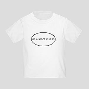 GRAHAM CRACKERS (oval) Toddler T-Shirt