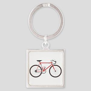 Red Road Bike Keychains