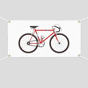 Red Road Bike Banner