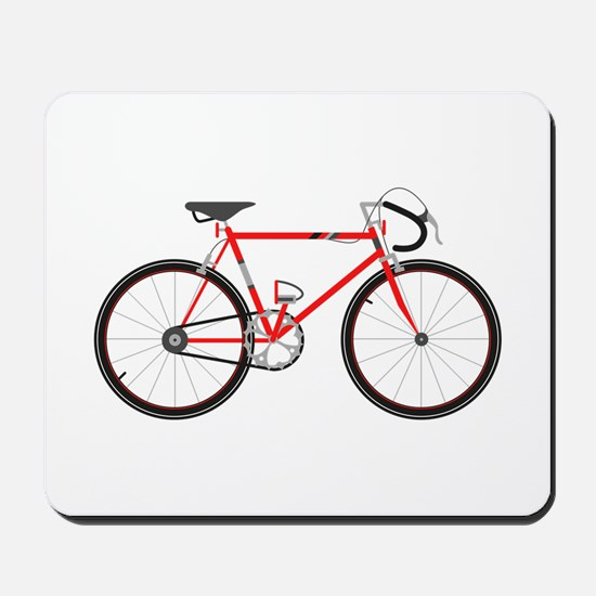 Red Road Bike Mousepad