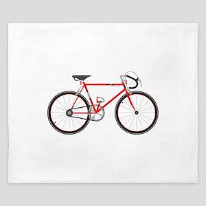 Red Road Bike King Duvet