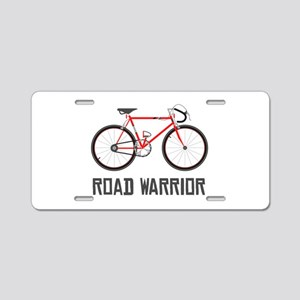 Road Warrior Aluminum License Plate
