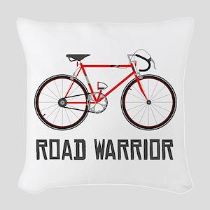 Road Warrior Woven Throw Pillow