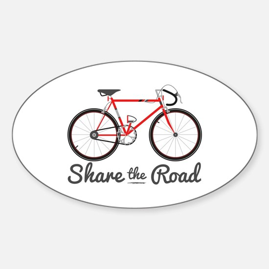 Share The Road Bumper Stickers
