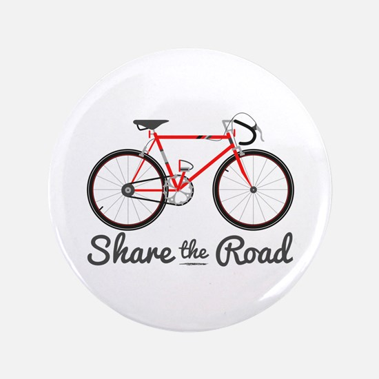 "Share The Road 3.5"" Button (100 pack)"