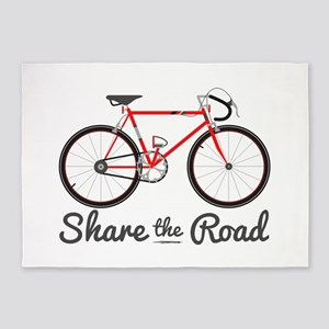 Share The Road 5'x7'Area Rug