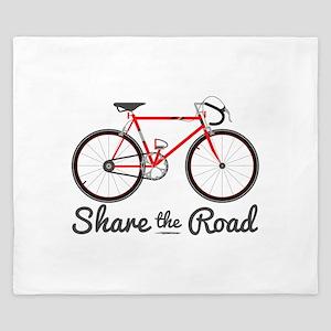 Share The Road King Duvet