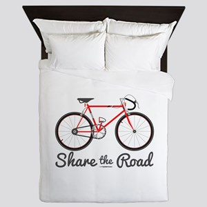 Share The Road Queen Duvet