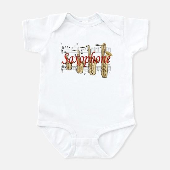 Saxophone Infant Bodysuit