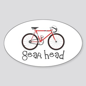 Gear Head Sticker