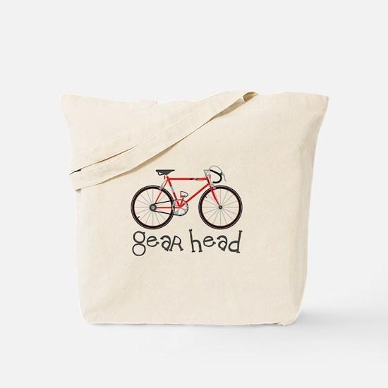Gear Head Tote Bag