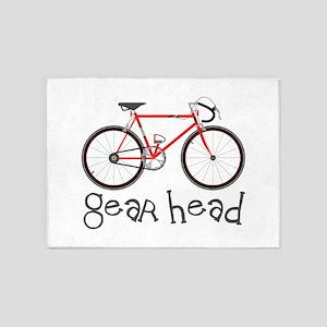 Gear Head 5'x7'Area Rug