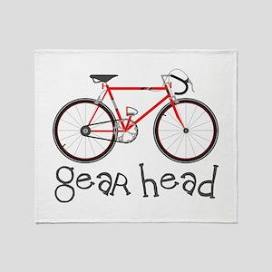 Gear Head Throw Blanket