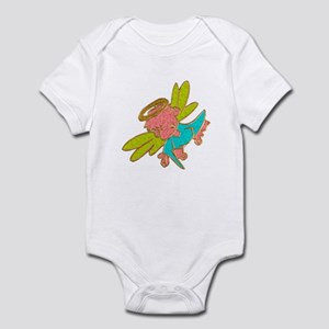 Jewelled Stained Glass Angel Infant Bodysuit