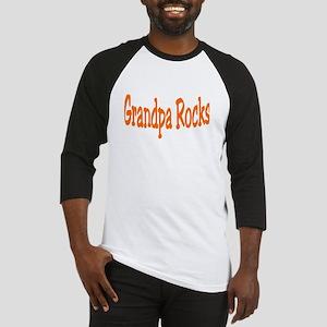 Grandpa Rocks Baseball Jersey