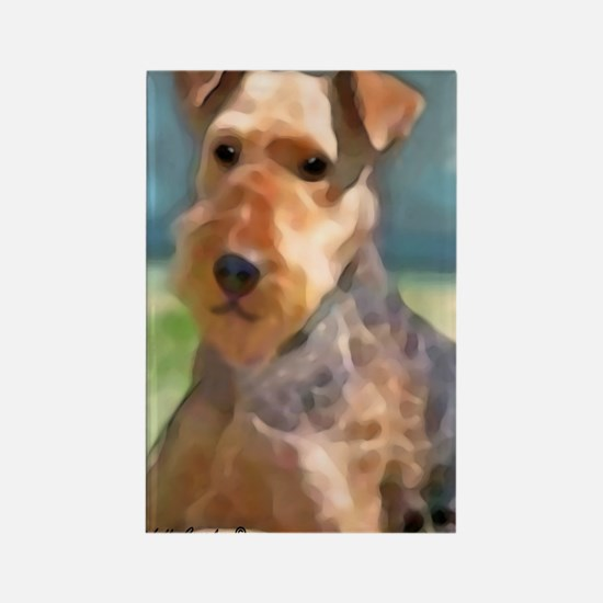 Cute Big brother dog Rectangle Magnet