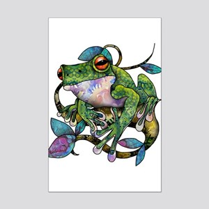 Wild Frog Mini Poster Print