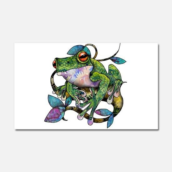 Wild Frog Car Magnet 20 x 12