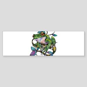 Wild Frog Sticker (Bumper)