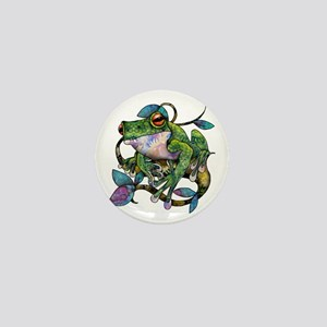 Wild Frog Mini Button