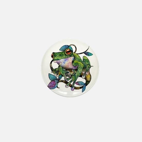 Wild Frog Mini Button
