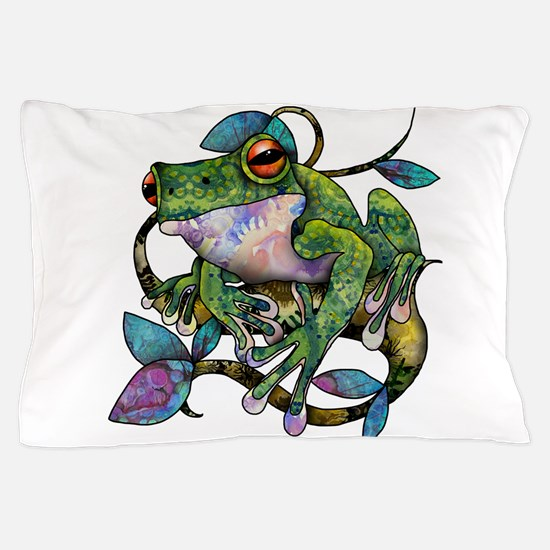 Wild Frog Pillow Case