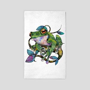 Wild Frog 3'x5' Area Rug