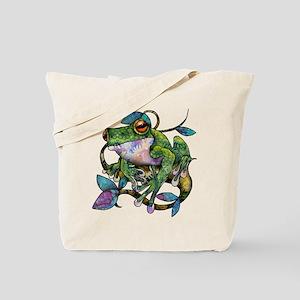 Wild Frog Tote Bag