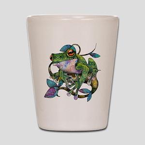 Wild Frog Shot Glass